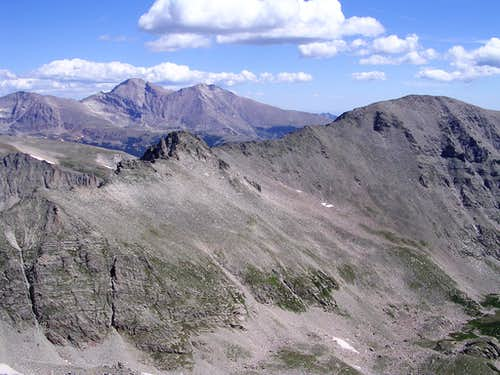 Copeland Mtn west ridge