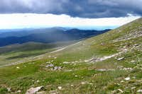 Dark Clouds Gather on Mt. Evans