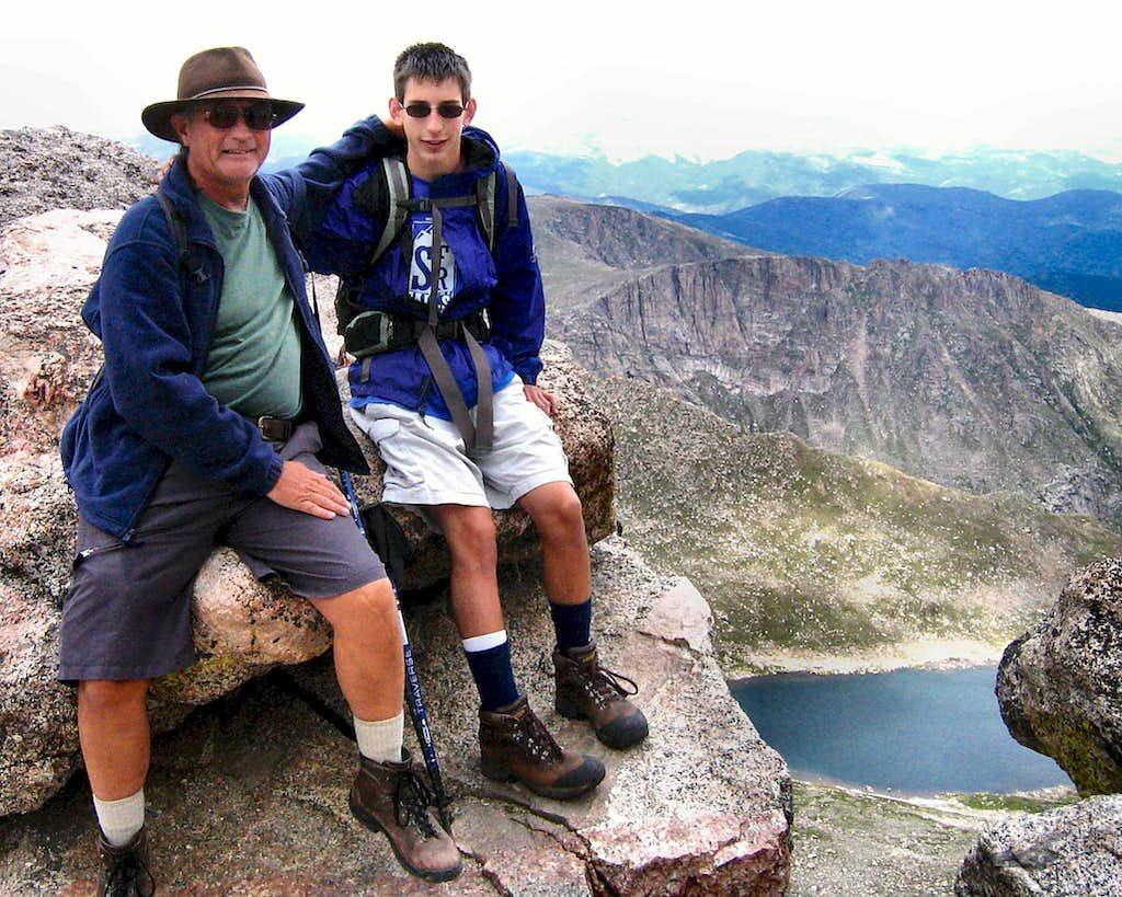 Mt. Evans Summit