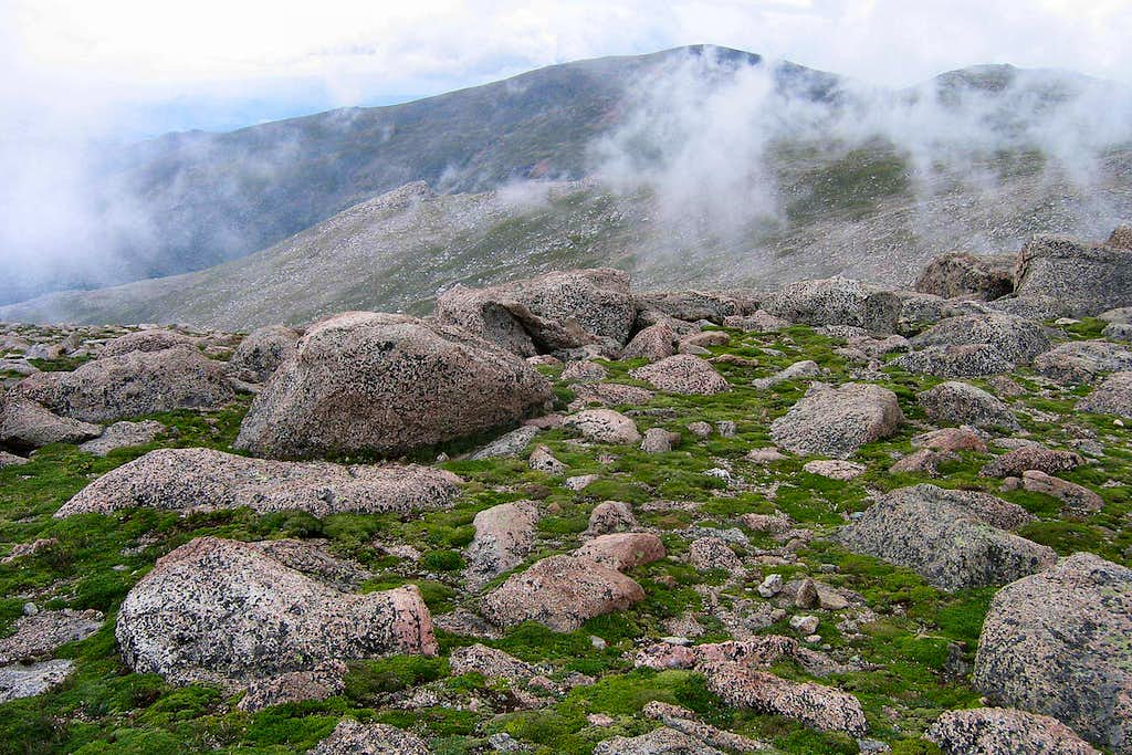 Clouds, Rock and Tundra, Mt. Evans