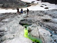 Columbia Supraglacial steam test
