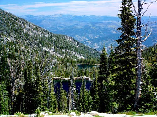 Upper and Middle Camas Lakes
