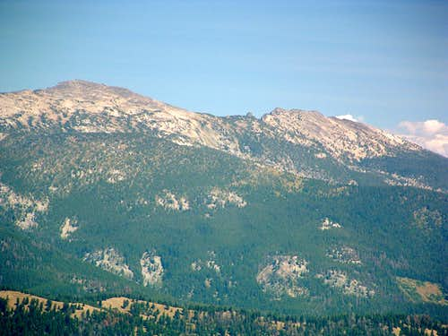 Boulder Peak from Castle Rock