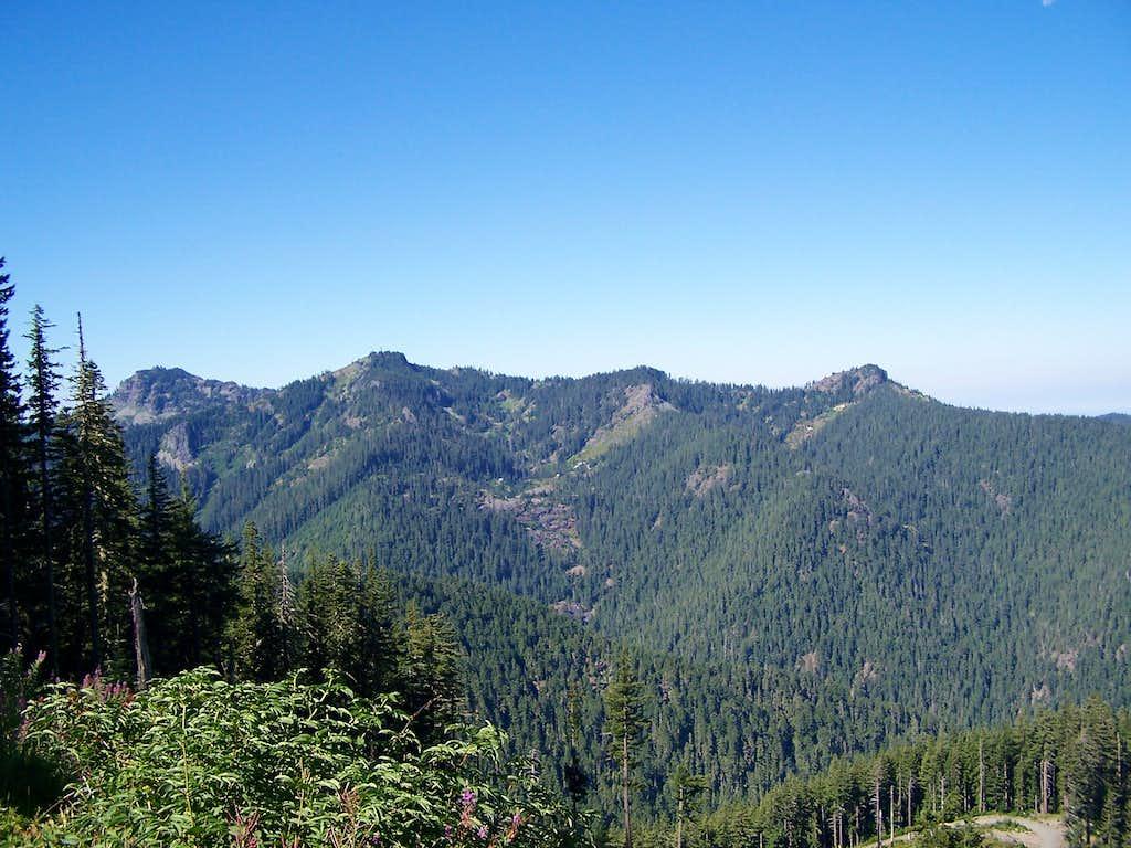 The far left peak