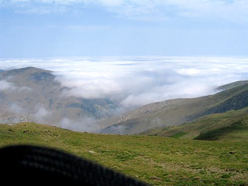 Above Clouds to Caspian Sea Drive