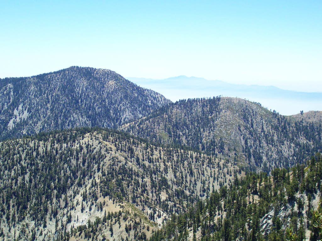 Timber Mountain from Telegraph