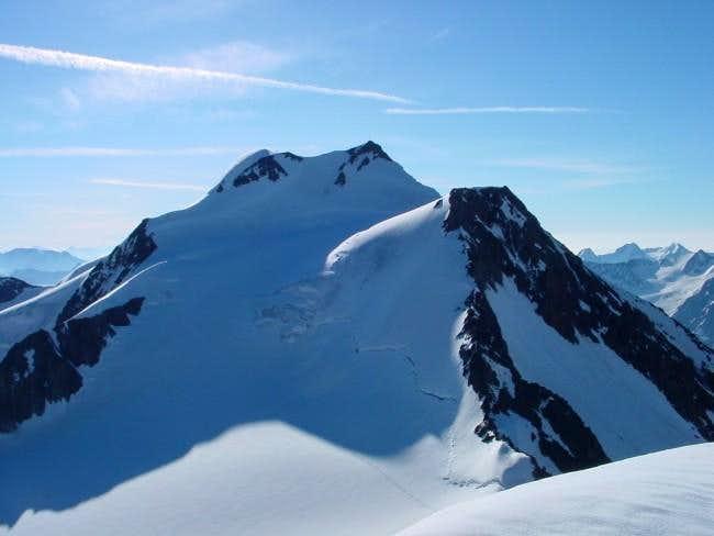 Wildspitze, seen from summit...