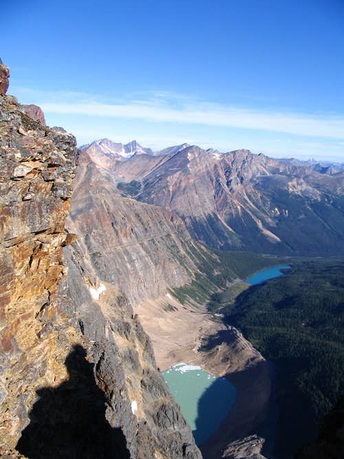 A gap in the ridge