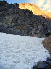 Looking up the East Ridge of Edith Cavell