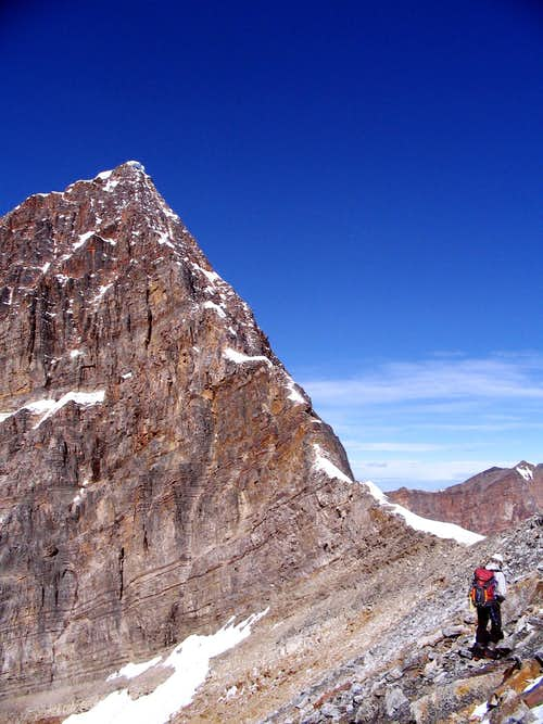 Top of East Ridge