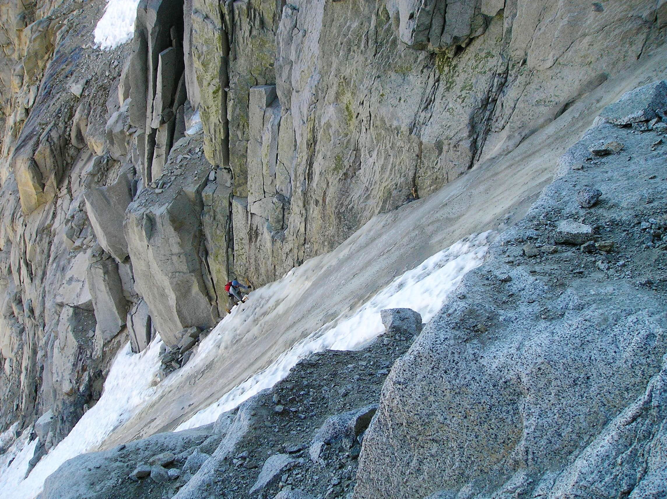 Left Mendel Couloir/ Ice Nine