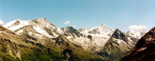 Weisshorn and others