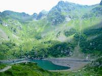 Lago Erdomolo with Cima di Cave and Monte del Lago