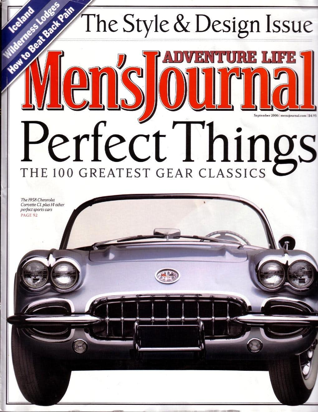 NEWS: SP in Men\'s Journal