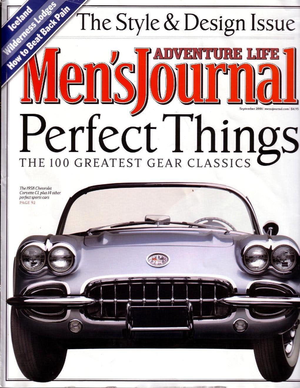 Men's Journal - Sept 2006