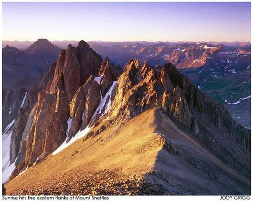 Eastern Flanks of  Mount Sneffels, Colorado.