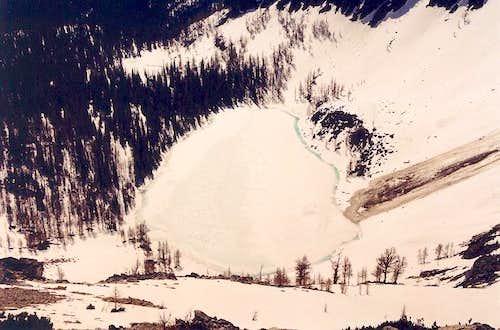 Upper Eagle Lake (7,110 ft)...