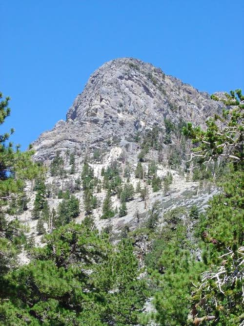 Macks Peak from the Ridge leading up