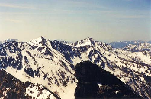 "A view of 8,270-ft ""Cheops""..."