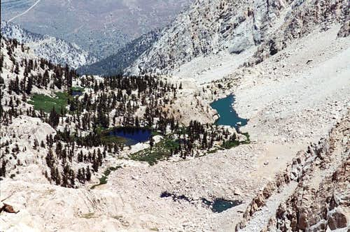 Grass Lake and Peanut Lake, Meysan Basin