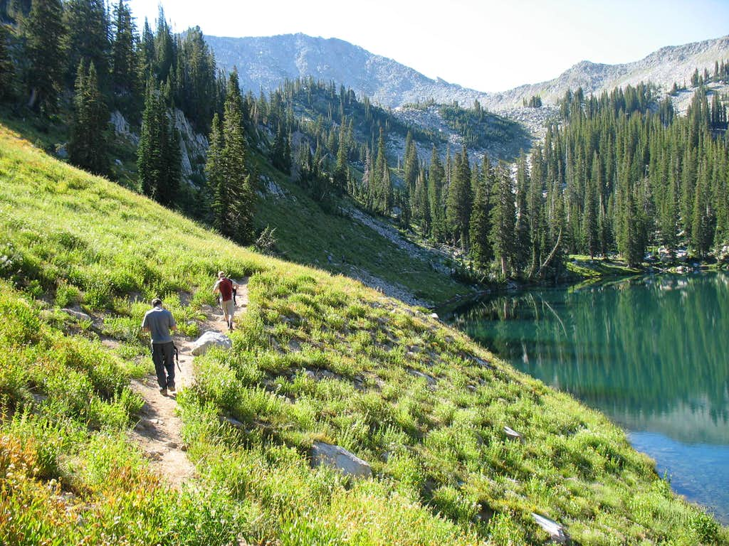 Trail East of Red Pine Lake