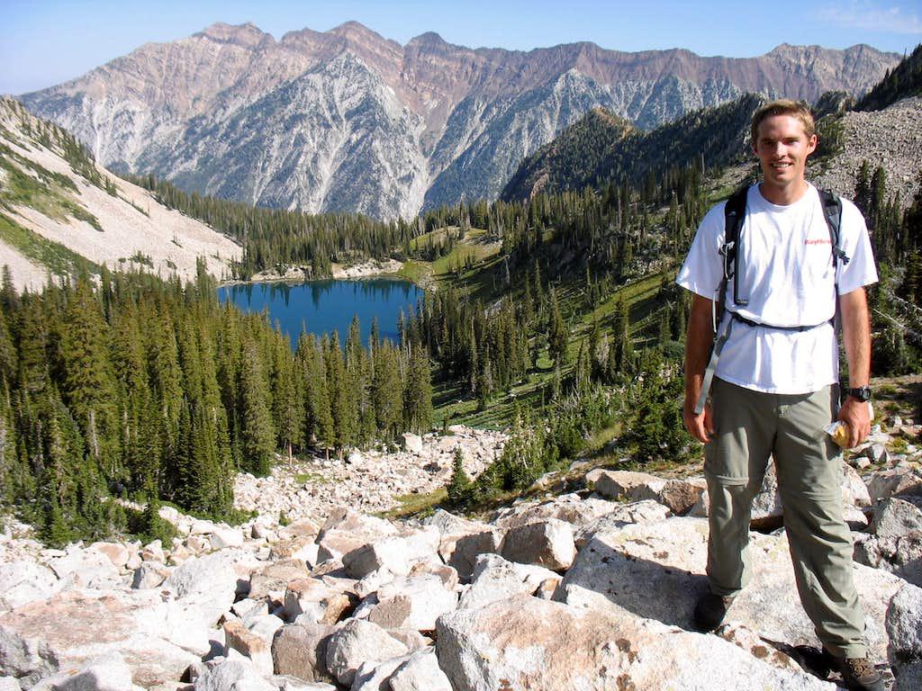 Brandon above Red Pine Lake