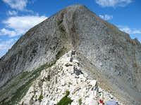Pfeifferhorn east face
