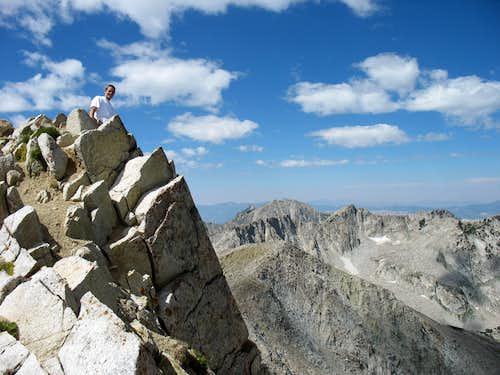 Brandon on Pfeifferhorn summit