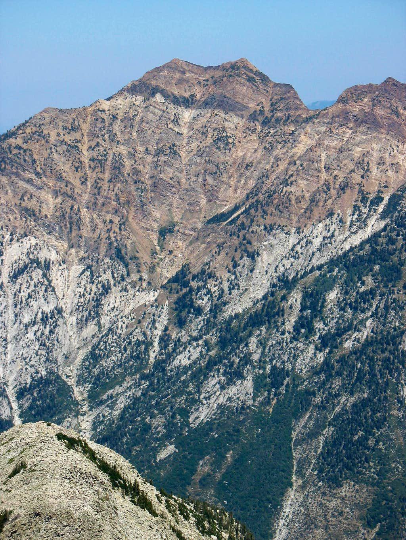 Broads Fork Twin Peaks from Pfeifferhorn