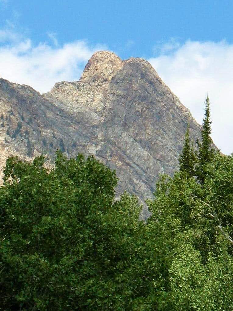 Monte Cristo's steep southwest face