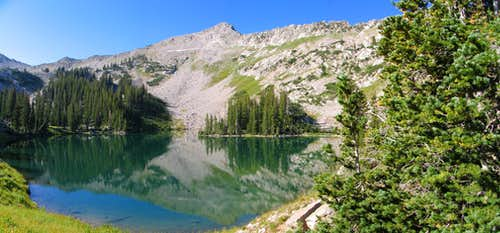 Red Pine Lake & Pfeifferhorn East Ridge