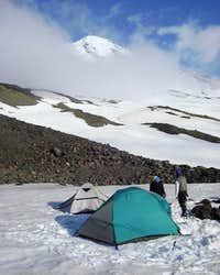 Our high camp at...