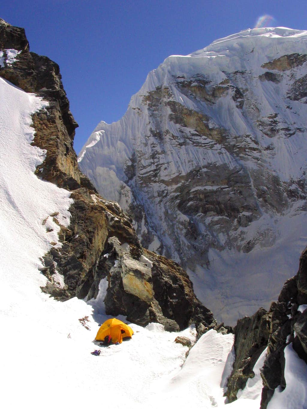 Col Camp, SW Ridge of Cholatse