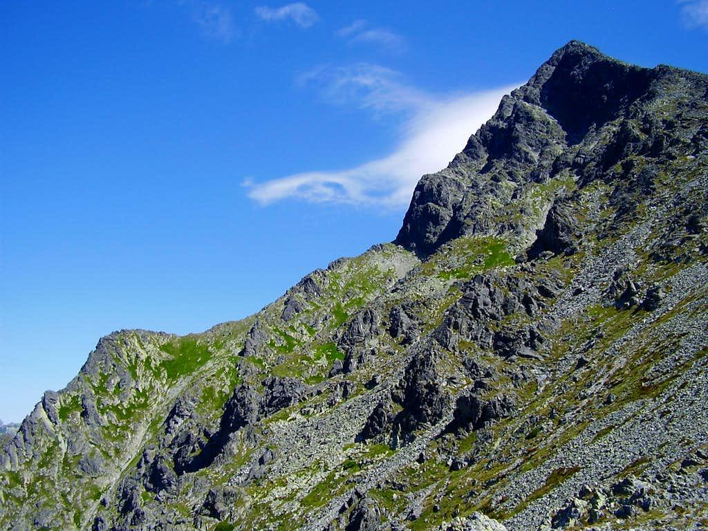 West ridge of Krivan