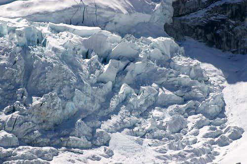Nuptse icefall