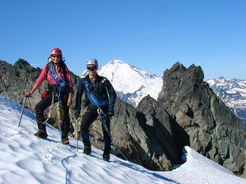Mount Shuksan - Fisher Chimneys
