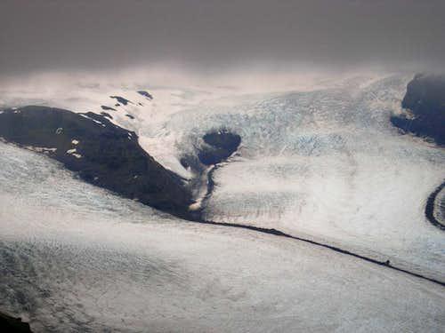 Vatnajökull from Kristinartindar