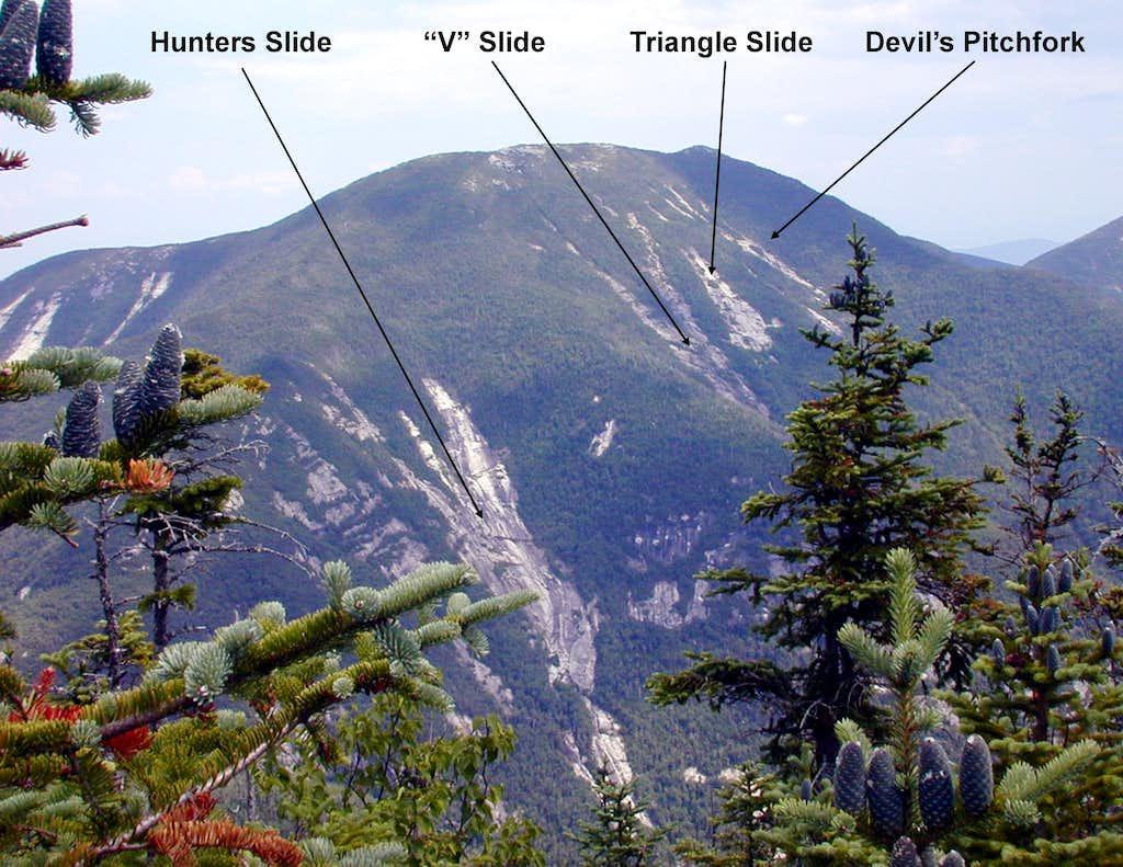 Dix West Face Slides