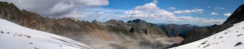 Sommerwandferner panorama