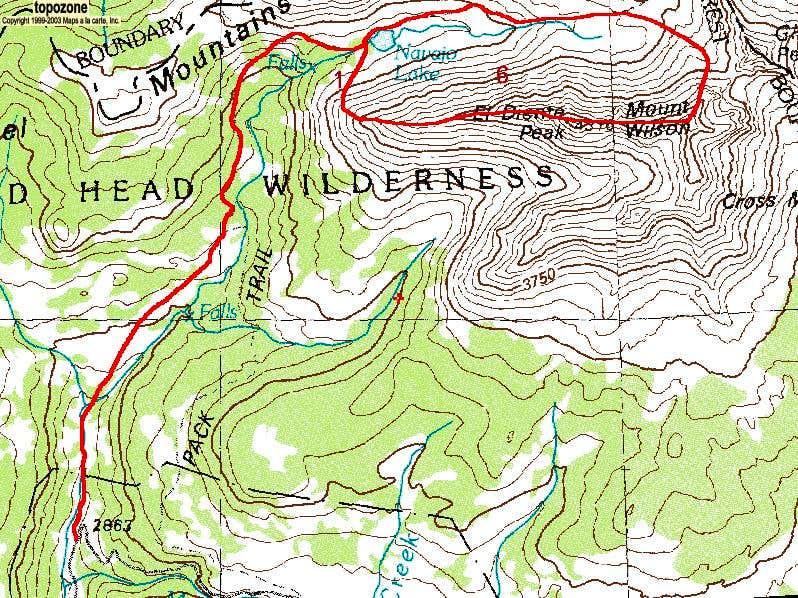 El Diente/Mount Wilson Traverse from Navajo Lake TH