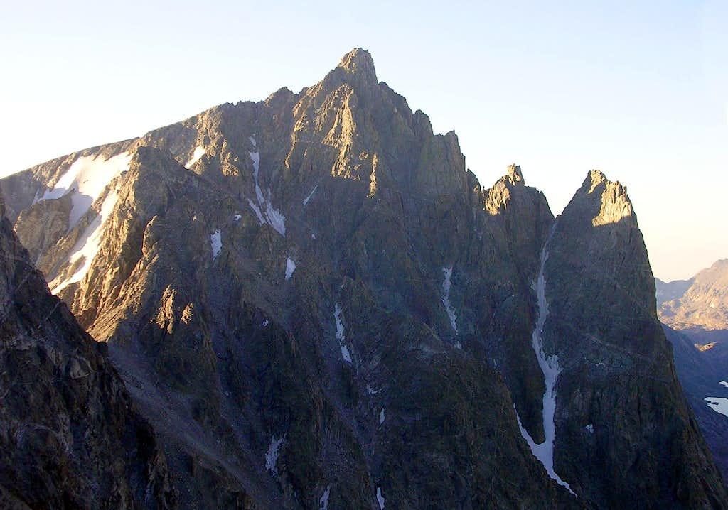 Mount Helen at Sunrise
