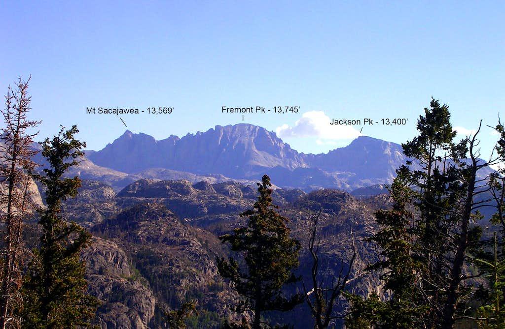 Fremont Peak from Elkhart Park