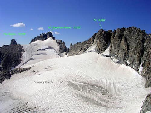Upper Dinwoody Glacier