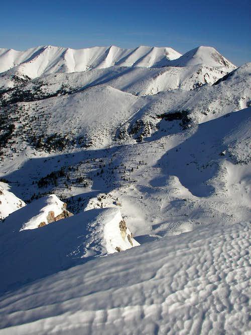 View from Sinanitza peak