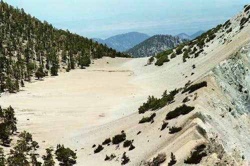 The Tarn near Dragons Head Mtn., San Bernardino Mtns.