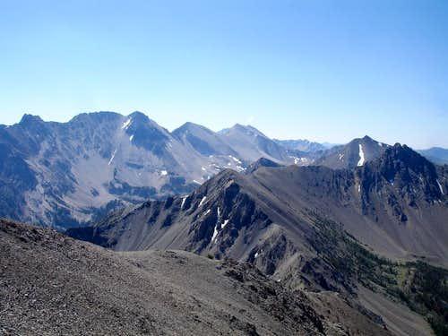 White Cloud Peaks