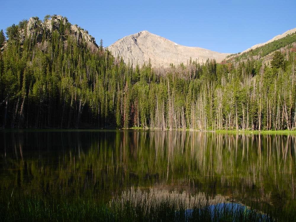 From Hoodoo Lake