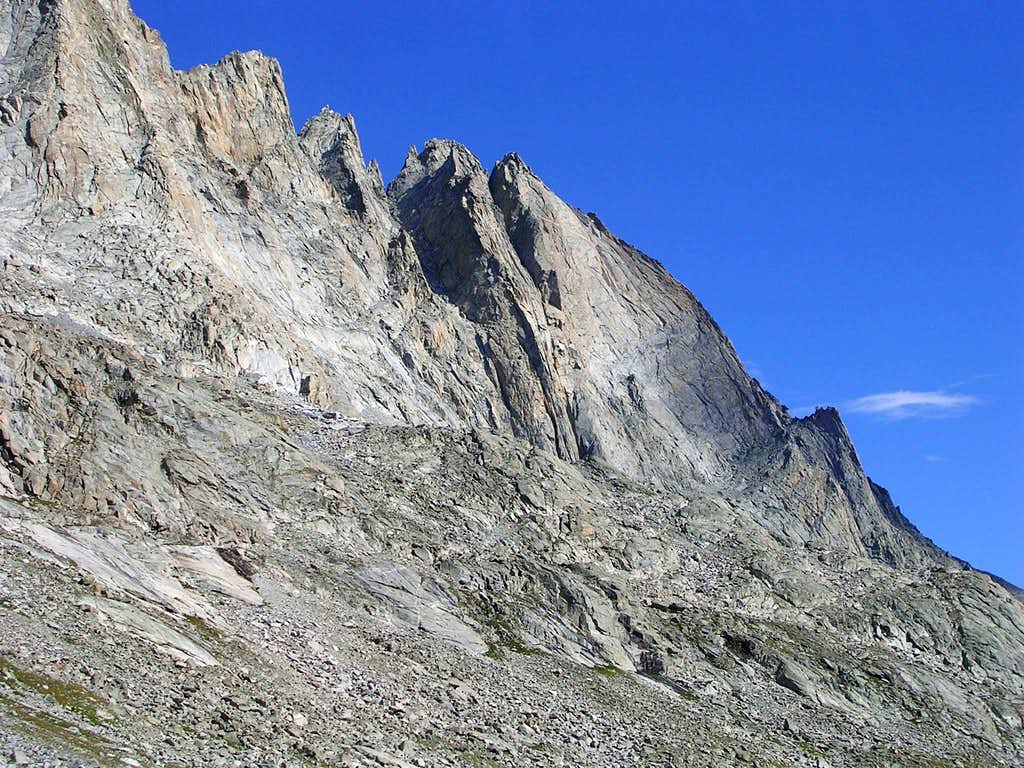 Fremont Peak from Titcomb Basin