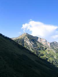 Mount Raymond from Bowman Fork