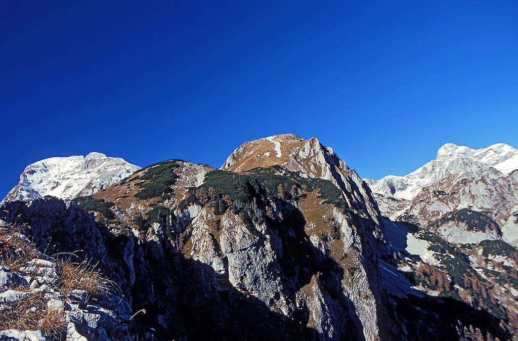 Ogradi summit ridge